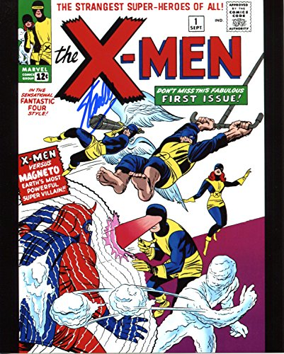 Stan Lee x-men #1 Signed/Autographed 8x10 Glossy Photo. Includes Fanexpo Certificate of Authenticity and Proof of signing. Entertainment Autograph Original. Thor, Iron Man, Hulk, Wasp, Ant Man