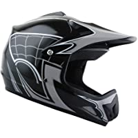 $49 » WOW Youth Kids Motocross BMX MX ATV Dirt Bike Helmet Spider Web Black