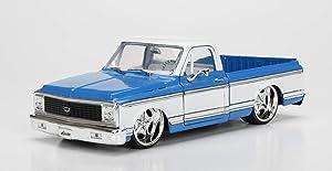 Jada 1:24 - Metals - Just Trucks - 1972 Chevrolet Cheyenne (Blue/White)