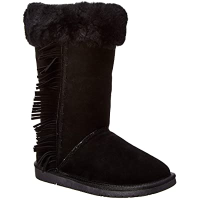 Minnetonka Womens Canyon Sheepskin Boot | Mid-Calf