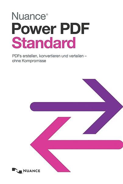 Nuance Power PDF Standard (Download): Amazon.de: Software