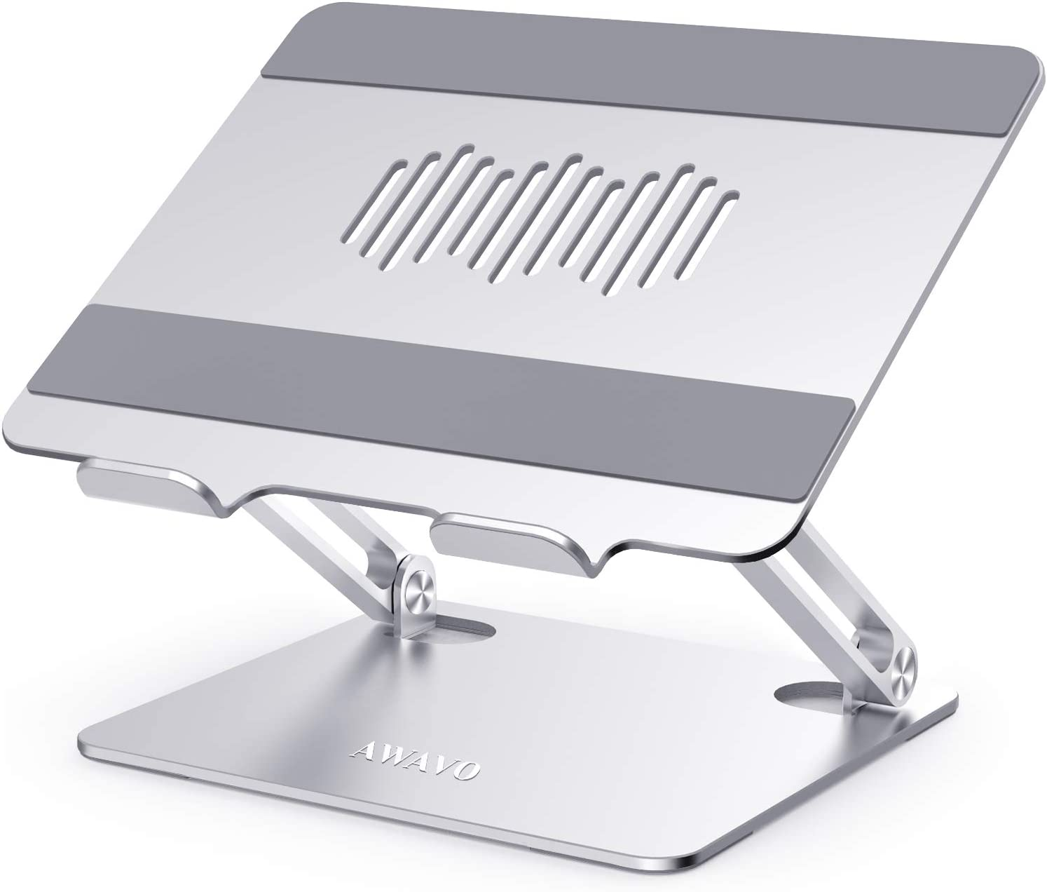 AWAVO Soporte Portátil, Elevador Ajustable para Computadora Portátil con Ventilación de Calor, Compatible con MacBook Air/Pro, DELL, HP, Lenovo, más computadoras portátiles de 10-15.6
