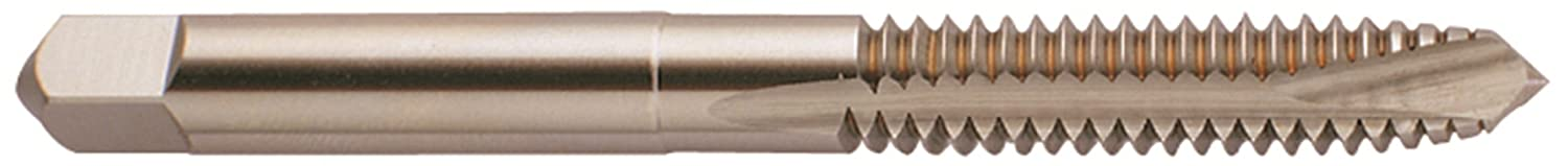 YG-1 J0 Series Vanadium Alloy HSS Spiral Pointed Tap Round Shank with Square End Uncoated Bright 1//2-20 Thread Size Plug Chamfer Finish H3 Tolerance