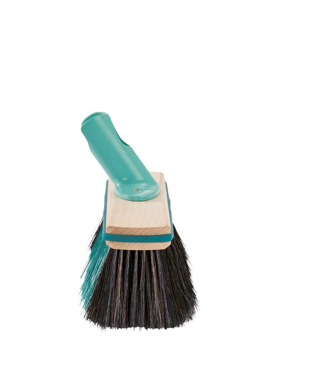 Leifheit Hard Floor Broom Xtra Clean Eco Plus 30 cm, Floor Broom, House Broom, Dustpan Brush, Wood / Mint Green, 45002 by Leifheit (Image #4)
