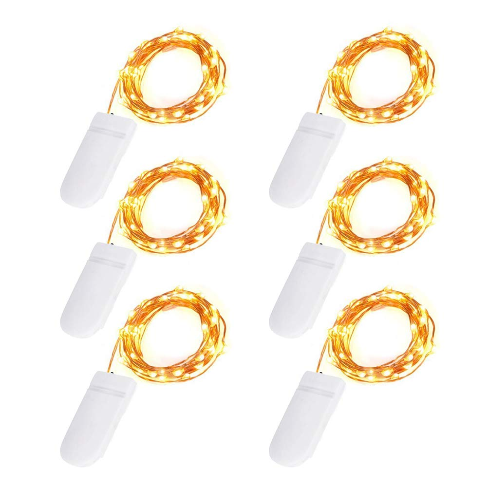 Ankway 200 LED Solar String Lights (1, warm yellow)