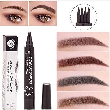 Amazon Com Sunnym Microblading Eyebrow Tattoo Pen Waterproof Fork