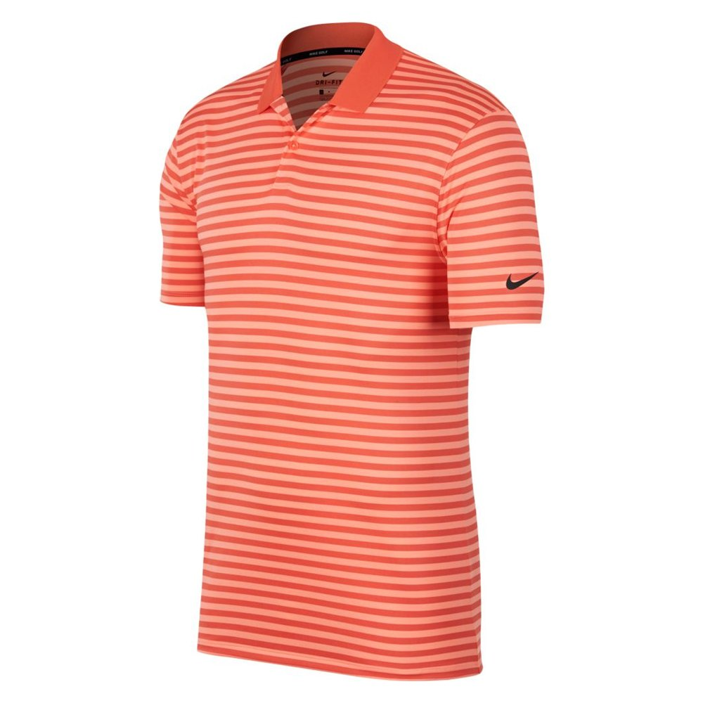 NIKE DRI FIT Victory Stripe Golf Polo - Small