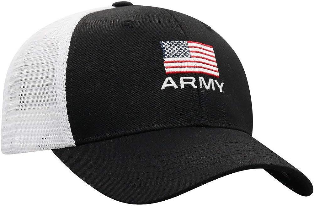 Elite Fan Shop Military Flag Snap Back Hat