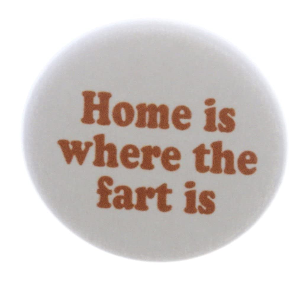 Amazon.com: A & T diseños hogar es donde está la Fart 2.25 ...