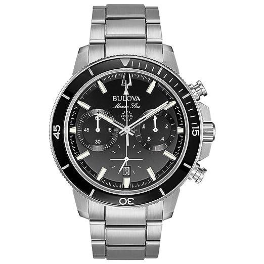be756f1cf11e Bulova 96B272 - Reloj de pulsera para hombre