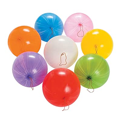 Fun Express - Mega Punch Ball Assortment (250pc) - Toys - Assortments - 250Pc Assortments - 250 Pieces: Toys & Games
