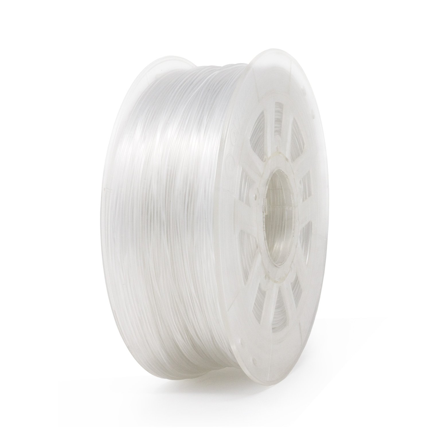 Gizmo Dorks 1 75mm PLA Filament 1kg / 2 2lb for 3D Printers, Transparent