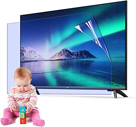 AIZYR 32-65 Inch TV Screen Protector Blue Light Filter Matte Anti-Glare//Anti Scratch Film Relieve Eye Fatigue for LCD LED,55 inch 1221 x 689