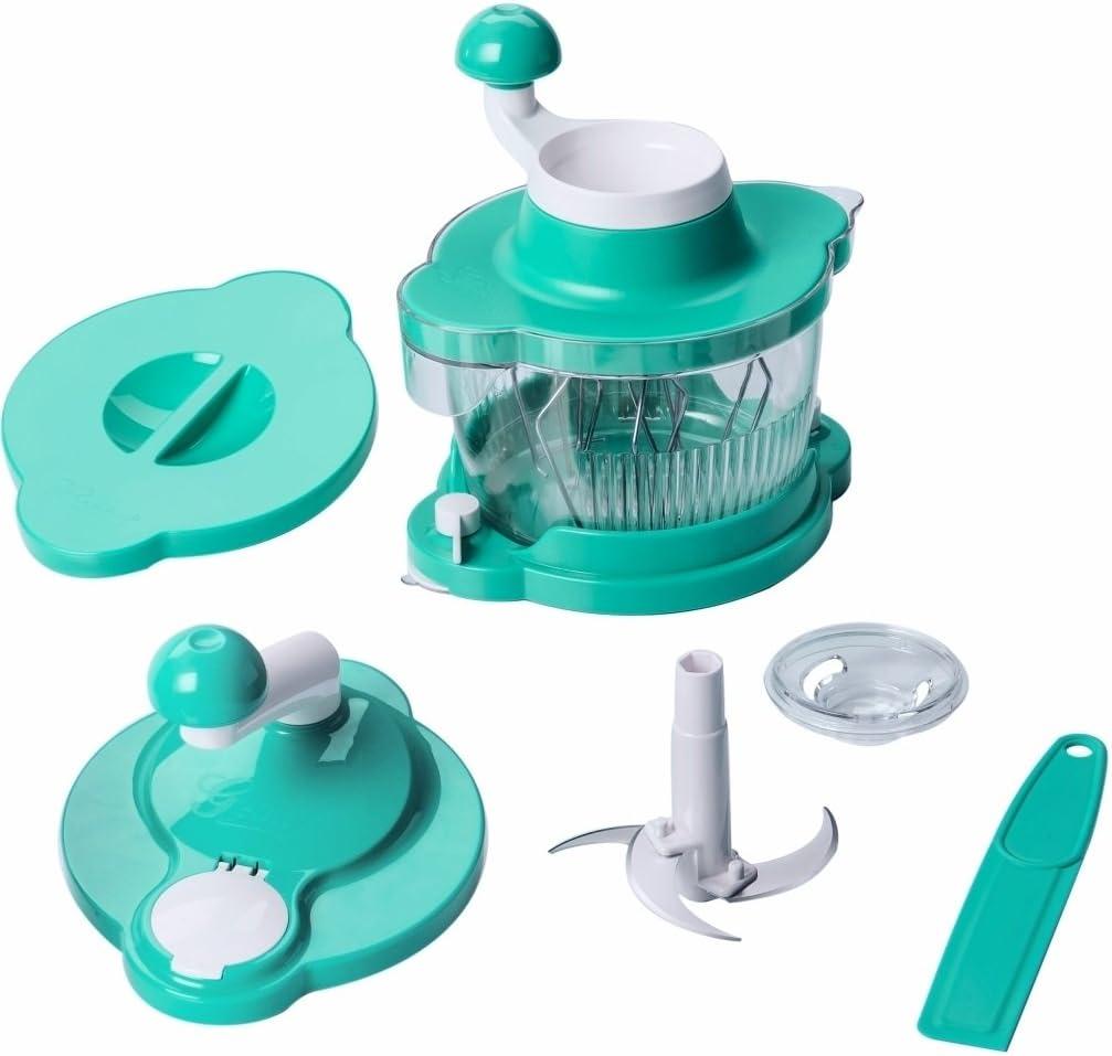 Compra Genius – Licuadora de Cutter Multi Talent Robot de cocina turquesa 21256 en Amazon.es