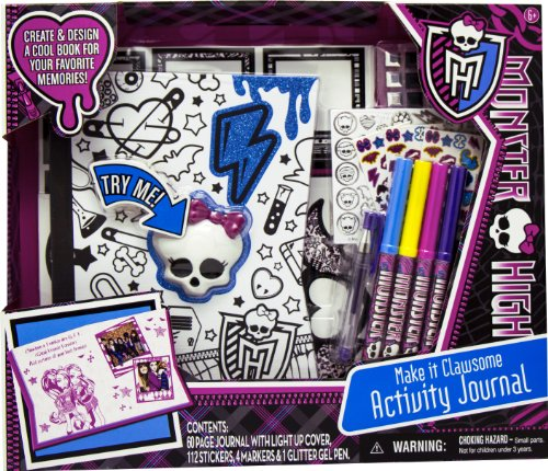Monster High Activity Journal (Monster High Toy)