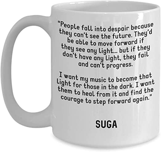 com bts coffee mug suga min yoongi quotes people fall