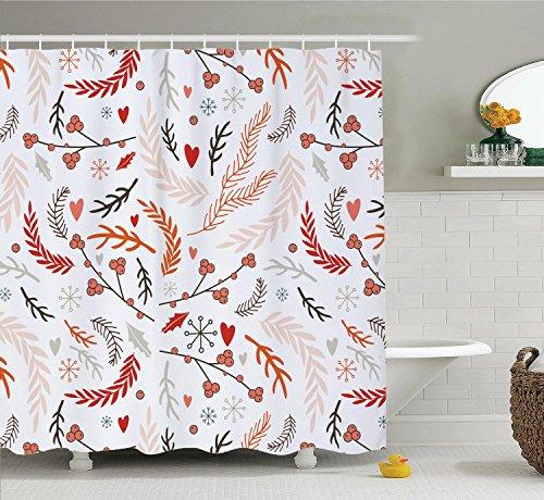 Devin Edie Buck Shower Curtain With Hooks DIY Customized Wat