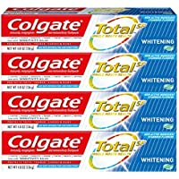 4-Pack Colgate Total Whitening Toothpaste Gel (4.8 oz)