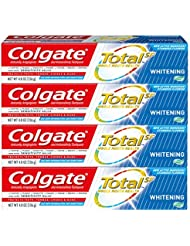 Colgate Total Whitening Gel Toothpaste - 4.8 ounce (4 Pack)
