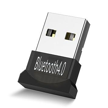 USB Bluetooth Adapter ,Patec USB Wireless Bluetooth 4 0 Dongle Adapter for  PC Desktop Computer with Windows 10, 8 1, 8, 7, Vista, XP 32/64 Bit