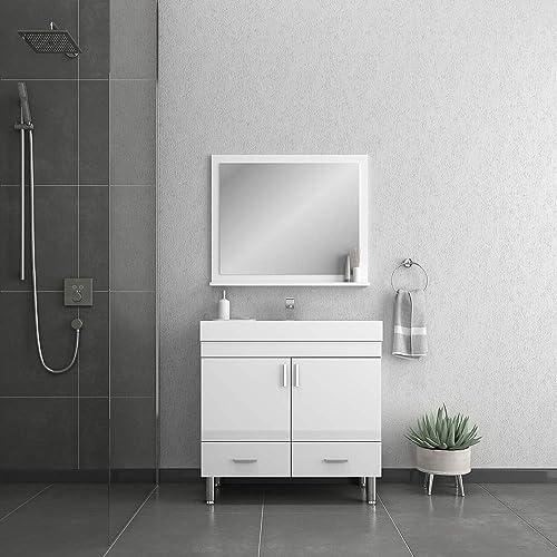 Alya Bath AT-8089-W Ripley Bathroom Vanity Set