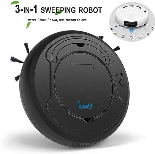 DokFin Robot Aspirador 3 en 1, Barre y Aspira el Suelo y Alfombra ...