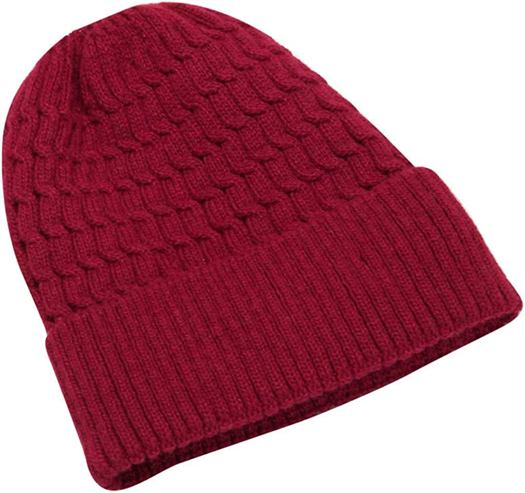 ID Womens//Ladies Plain Knitted Winter Warm Casual Beanie Hat ID319