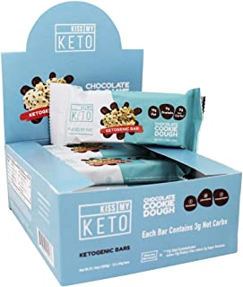 product image for Ketogenic Bar Chocolate Cookie Dough (12 Bars)
