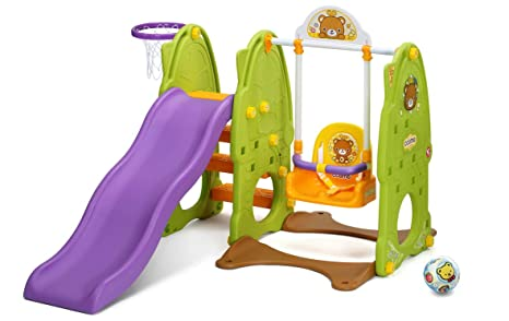 01e191cbf9c7 Ricco Yaya Y1223 3-in-1 regolabile Wave scivolo e altalena per bambini  nursery