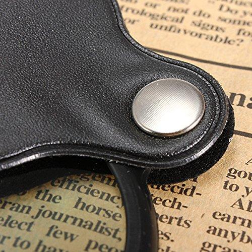 DyNamic 5X Taschen-Faltlupe mit Lupen-Etui