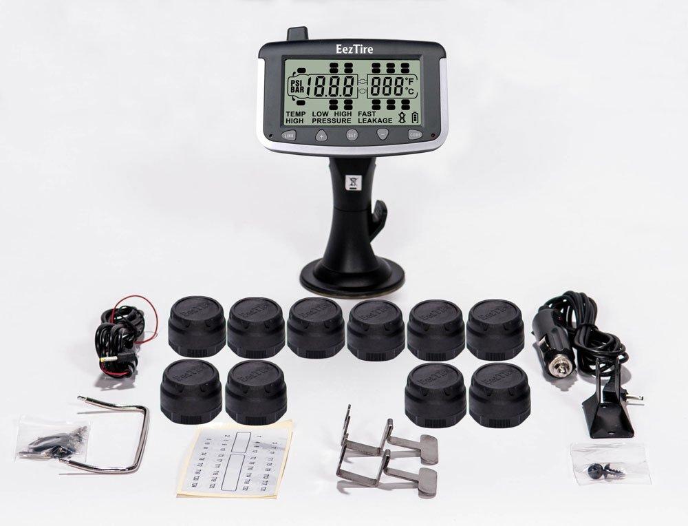 EEZTire Tire Pressure Monitoring System - 10 Sensors (TPMS)