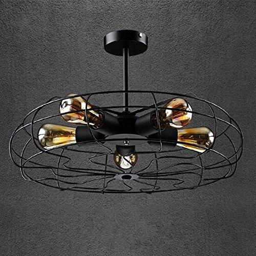 hotel Vintage luceshabitaciones 5 Lámpara de techo de FAN j4LR35A