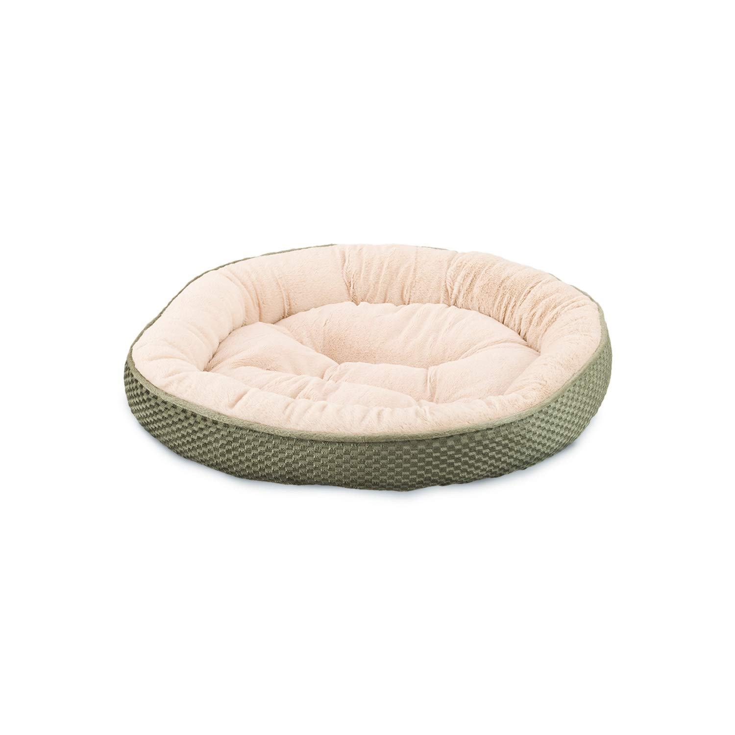 Ethical Pets Sleep Zone Checkerboard Napper Pet Bed, 20 , Sage