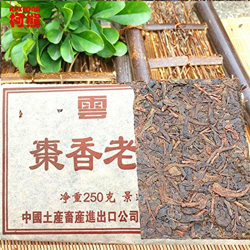 Yunnan Pu'er tea Chen tea items falling Zhuan Jingmai 250 g Pu er tea trees taste aromatic raw materials green ()