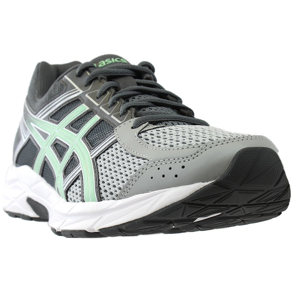 ASICS Women's Gel-Contend 4 Running Shoe, Mid Grey/Glacier Sea/Silver, 8.5 M US