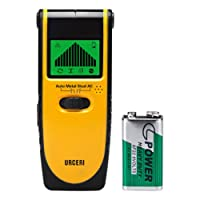 URCERI Detector de Pared Encontrar Stud Finder con 3-en-1 Metal AC Alambres