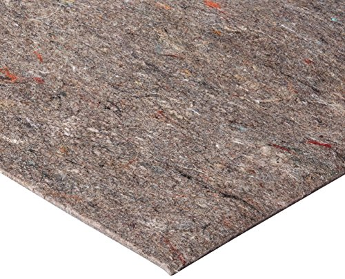- Durable, Reversible 8' X 10' Premium Grip(TM) Rug Pad for Hard Surfaces and Carpet