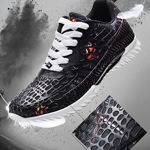 Sfit Homme Respirantes Noir Baskets Chausssure xO7rxBw