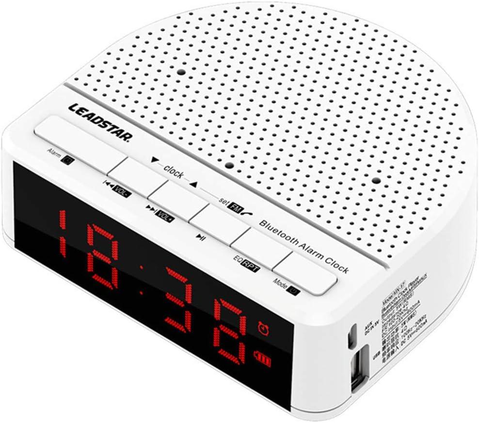 MESST Altavoz Bluetooth, Música Tarjeta de Alarma subwoofer, Bluetooth 4.2 Transmisión, Soporte para la conexión del teléfono móvil Bluetooth, Tablet, Laptop