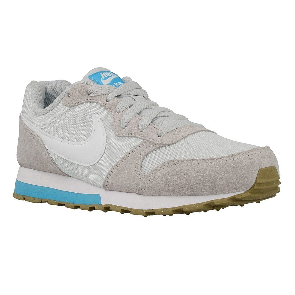 Nike MD Runner 2 GS - 807319008 - Color Beige-White-Grey - Size: 3.5