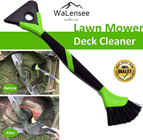 Amazon.com: Cortacésped deck scraper brush mower cleaner ...