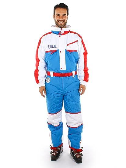 Amazon.com   Tipsy Elves USA Ski Suit - Red 5e97bb4dd
