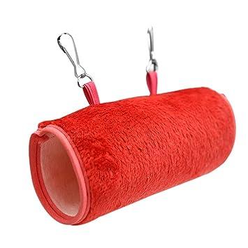XMTPF Hamaca para hámster con diseño de cobaya, Cama para Dormir, para Invierno, cálida y pequeña casa de Animales: Amazon.es: Productos para mascotas