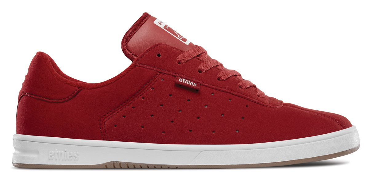 Etnies Scam Skate Shoe 11 D(M) US|Red/White/Gum