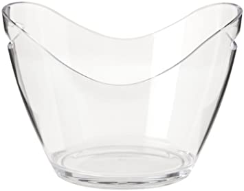 Co-Rect Acrylic 4 Bottle Ice Bucket Clear