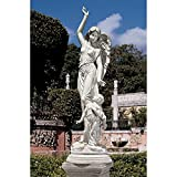 Design Toscano Queen of Angels, Guardian of Children Statue