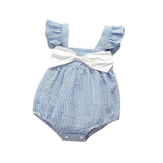 30400c121e77 Amazon.com  Molyveva Newborn Infant Baby Girls Cute Romper Bodysuit Clothes  Jumpsuit Outfits  Clothing