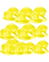 US Toy Construction Party Hat, yellow
