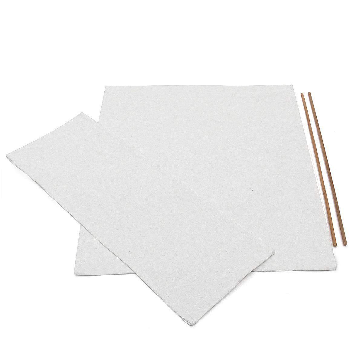11 21 17 Cofemy Sedie durevoli Telo di Sostituzione delle coperture di sede Sedia Panno Protector Bianco,21