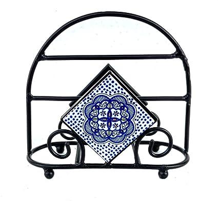 Amazon Com Rastogi Handicrafts Tissue Pepar Holder Stand Ceramic